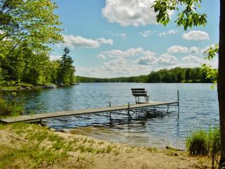 2BR Longville Cabin w/Pristine Lake Views!