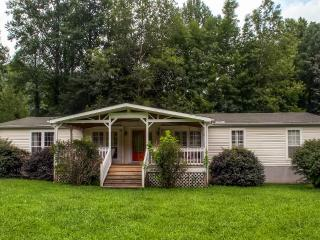 Cozy 3BR Hayesville House w/Wifi, Large Flat Yard & Year-Round Mountain Views