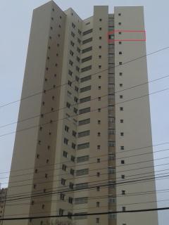 Localização na fachada - 20° andar oeste