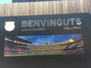 FC Barcelona estadio.Potable wifi free.Reformado