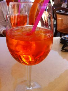 Summer calls for an Aperol spritz