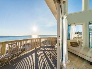 OVER THE RAINBOW B-3BR/3BA-GULF FRONT LUXURY, 7% OFF AUG & SEPT DATES!!!