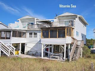 Beachfront 2 Bed/2 Bath Home, Open Concept, Private Deck*05/22/16 $2400/wk, Port Saint Joe