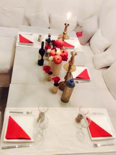 A special dinner decoration