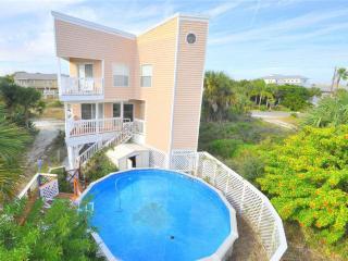 Beach Walk in Vilano Beach with Private Pool, Sleeps 6, Saint Augustine