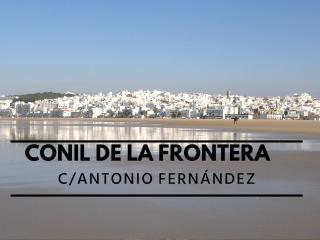 APARTAMENTO C/ ANTONIO FERNANDEZ, 2, Conil de la Frontera