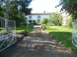 4 Bed farmhouse, 4 bath, pool, WiFi, satellite TV, Estampes