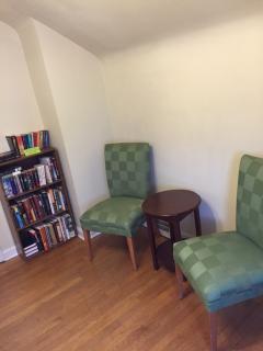 Master Suite Sitting Area & Book Swap