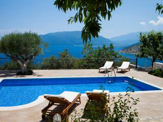 Villa Thalassini_ An elegant house in a paradise location. Privacy and sea views
