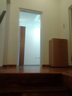 Hallway and door into 2nd bedroom