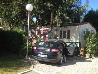 location mobil home tres equipé, Frejus