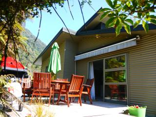 Franz Josef Treetops Holiday House -near hot pools