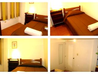 Single room on third floor, nice climate.