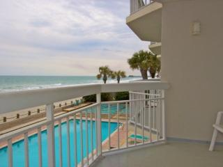 Beachside pool and sun deck, enjoy the sun without the sand.
