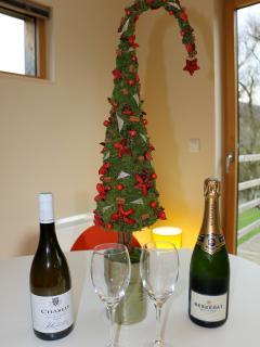Noël et le jour de l'an dans le Cube...