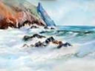 Plenty of local artists to capture the beauty of the gower coast