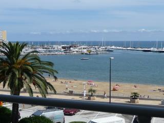 Beau 2 pièces vue mer - 4 pers - Clim - Centre ville - Sainte-Maxime