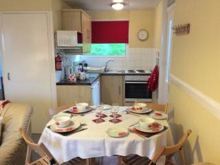 Pet friendly Self catering chalet sleeps 4, Kilkhampton