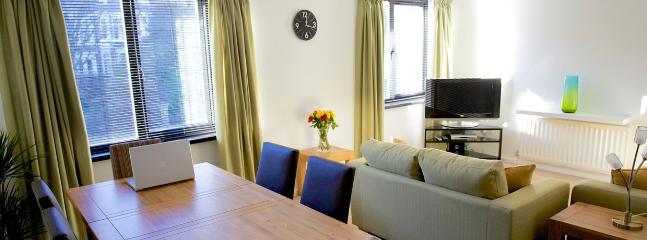 Spacious contemporary lounge