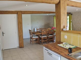 The Grange - open plan kitchen, dining and living areas