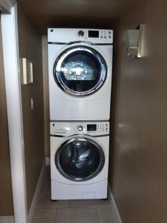 One of Only a Few units with private washer/dryer. No community waiting here!