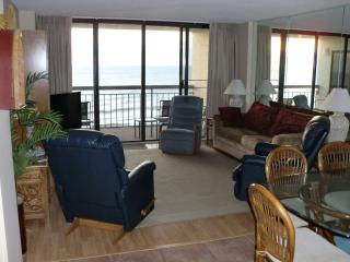 Ocean Front Condo on beautiful Crescent Beach., North Myrtle Beach