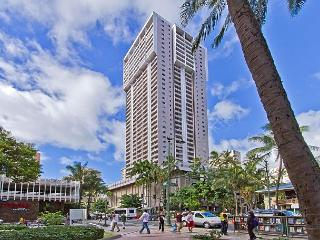 Rarely Available Ocean View 2BR, 2BA, Reserved Parking Royal Kuhio Condo, Honolulu