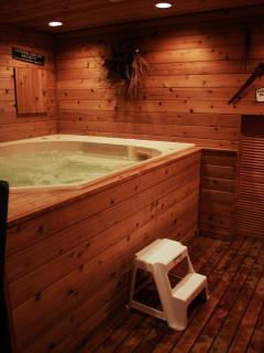 Private Indoor Hot Tub