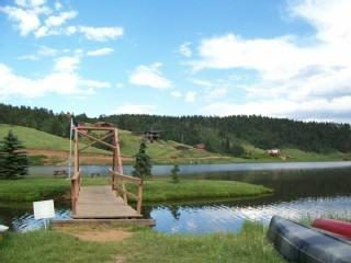 Lake lodge with amazing views, no pet fees n wood!, Divide