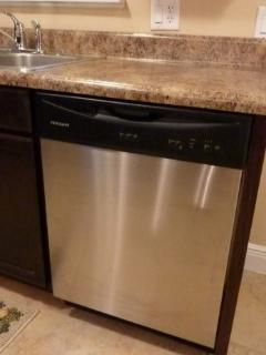 Stainless Steel Automatic Dishwasher.