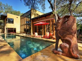Bali Meets Austin In Artist's Spectacular, Private