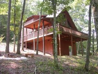 Like new cabin, wooded setting
