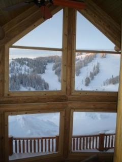 View of slopes from Great Room