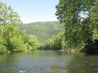 Amazing 4BR Private Riverfront House on the Shenandoah River with 1/4 Mile of River Front - 4 Kayaks Provided!, Toms Brook