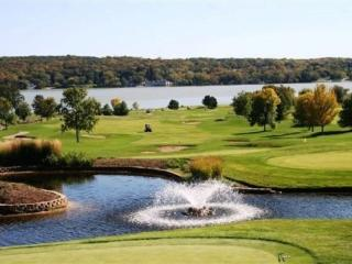 MONTHLY-FULLY FURNISHED 2 br LIGHTHOUSE  CONDO on GENEVA NATIONAL GOLF COURSE!