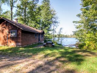 Lovely 2BR Danbury Cabin w/Shared Dock, Outdoor Firepit & Spectacular Water Views - Unbeatable Lakefront Location! Direct Access to ATV Trails & Close to St. Croix National Scenic Riverway!
