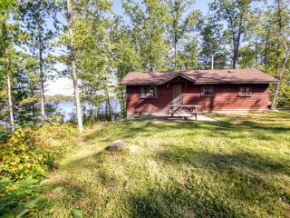 Rustic 2BR Danbury Cabin w/Shared Dock, Outdoor Firepit & Spectacular Water Views - Unbeatable Lakefront Location! Direct Access to ATV Trails & Close to St. Croix National Scenic Riverway!