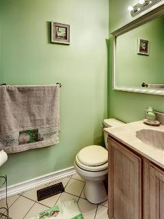 Enjoy added privacy in the en-suite bathroom in the master.
