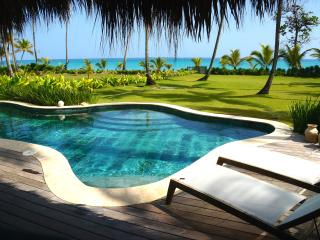 Luxury Ocean Front Villa with Pool at Playa Bonita, Las Terrenas