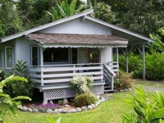 Private and secluded cottage with outdoor hot tub, Hana