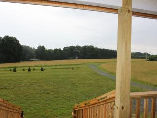 View Of The Farm From The Front Porch