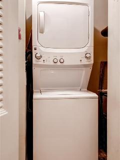In-unit washer and dryer provided for your convenience