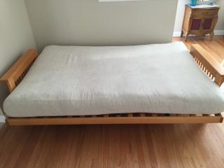 Big Futon in Living Room, Prefer 7 pm - 9 am occupancy