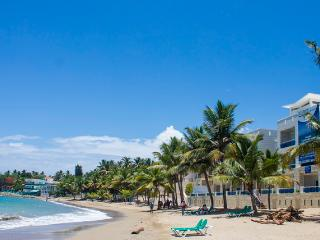 Center of Town Oceanfront Apartment in Cabarete