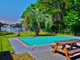 Beautiful 3BR Home in Panama City Beach w/Private Swimming Pool, Dock & Gulf Access - 5 Minute Walk to Beach!