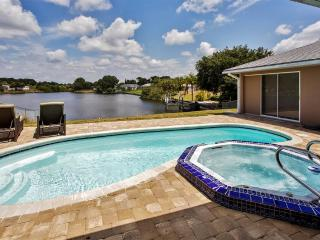 Port Charlotte Home By Water w/ Heated Pool & Spa!