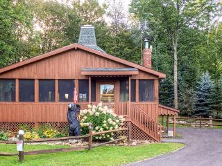 Well Maintained 2BR + Loft Chalet at Peek'n Peak Resort in Clymer - Free Wifi & Yards Away from Golfing & Skiing!