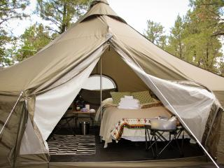 Arizona Luxury Expeditions---Glamping campsites, Grand Canyon National Park