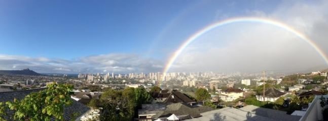 Rainbow from Balcony