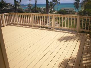 Private Ocean View Deck
